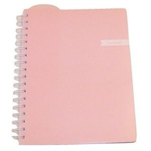 Carolina Pad College Ruled Notebook Soft Pink 7 x9